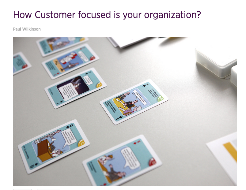 How Customer focused is your organization?
